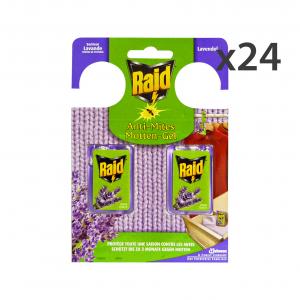RAID Set  24 Tarmicida Lavanda 2 Pezzi Articoli Per Insetti