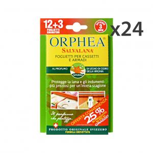 ORPHEA Set 24 Tarmicida Legni Cedro X 12 Pezzi Articoli Per Insetti