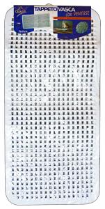 CASAPIU' Vasca bagno tappeto gomma 75x35 tap0800a - Tappeti