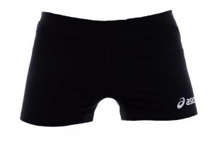 ASICS Pantaloncini shorts pallavolo donna elasticizzati WALL nero T542Z1