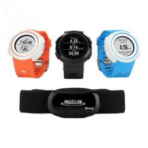 MAGELLAN Echo Running Watch+Hrm Blue Accessori Telefoni Smartphone