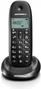 MOTOROLA D1001 Black Dect/V.V Telefonia Fissa e Cordless