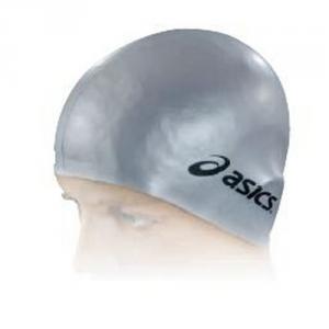 ASICS Confezione 10 pezzi cuffia nuoto piscina stretch silicone silver T432ZJ