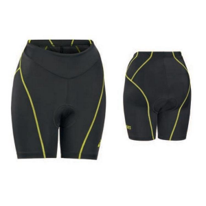 ASICS Shorts triathlon donna con fondello SHORTS TRIATHLON nero lime T281Z6