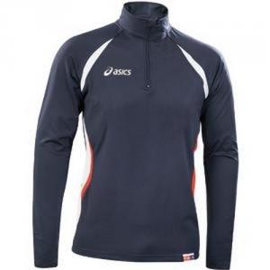 ASICS Maglia tecnica maniche lunghe atletica running unisex CANADA blu T199Z6