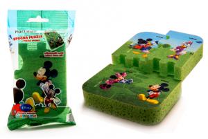 MARTINI Spugna Bagno Disney Puzzle 4220P00 Pulizia Personale