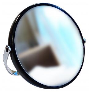 ACCA KAPPA Specchio biluce plastica nero - accessori toiletteria