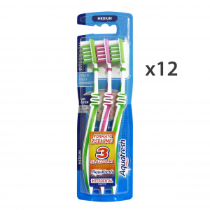 AQUAFRESH Set 12 AQUAFRESH Spazzolino interdental *3 pz. medio - spazzolini