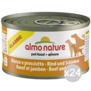 Set 24 ALMO NATURE Hund Kann 5545 95 Beef Ham Nahrung Für Hunde