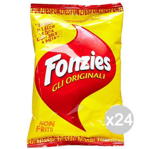 Set 24 FONZIES Chips Original Gr100 117.439 Snack- Und Salzige Knabbereien