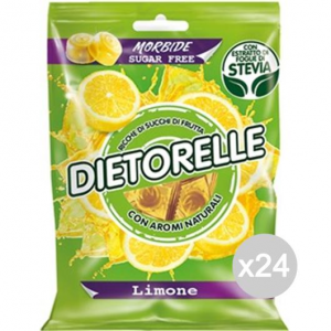 Set 24 DIETORELLE Candies Lemon 70 Gr Sweet And Food