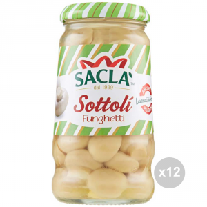 Set 12 SACLA' Champignon mushrooms 280 g seasoning