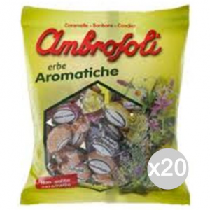 Set 20 AMBROSOLI Conditioner Herbal Sweets Gr 150 Arom Sweet And Food