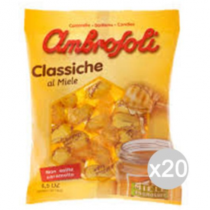Set 20 AMBROSOLI Sweets Gr 135 Honey Sweet And Food