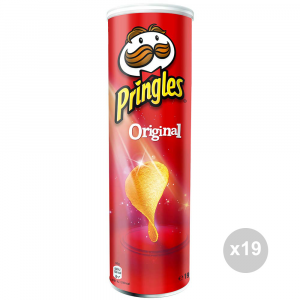 Set 19 PRINGLES Fries 165 gr original salzige Snacks