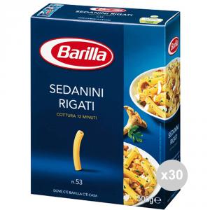 Set 30 BARILLA Semola 53 sedanini gr500 pasta italiana