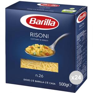 Set 24 BARILLA Semola 26 risoni gr500 pasta italiana
