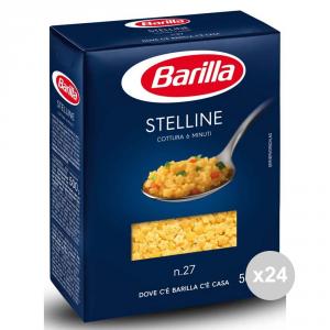 Set 24 BARILLA Semola 27 stelline gr500 pasta italiana