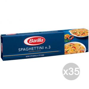 Set 35 BARILLA Semola 03 Spaghettini Gr500 Preparazione E Cucina Di Pranzo E Cena