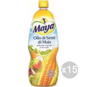 Set 15 MAYA Olio Semi Di Mais Lt 1 Condimento E Insaporitore