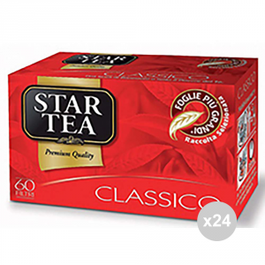 Set 24 STAR 60 g 90 tea filters for infusion
