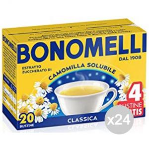 Set 24 BONOMELLI Camomilla Sol 16+4 100Gr Bevanda Bibita Analcolica