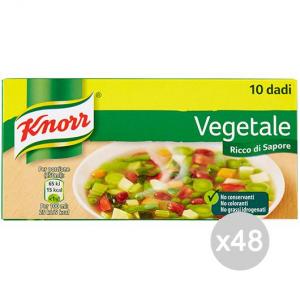 Set 48 KNORR Dice Cubes 10 Préparation Pour Soupe Aux Légumes