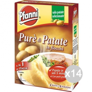 Set 14 PFANNI Pure' Gr 225 3 Buste Cibi E Alimentari