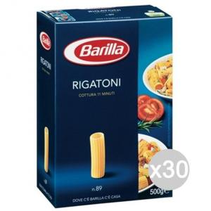 Set 30 BARILLA Semola 89 Rigatoni Gr500 Preparazione E Cucina Di Pranzo E Cena