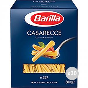 Set 30 BARILLA Semola 87 casarecce gr500 pasta italiana