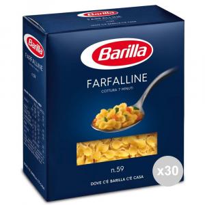 Set 30 BARILLA Griess 59 Farfalline GR500 italienische Pasta