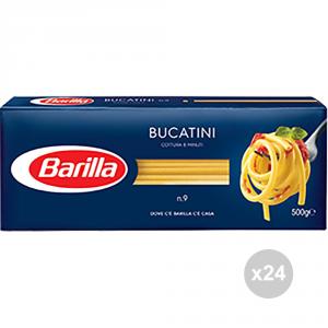 Set 24 BARILLA Semola 09 bucatini gr500 pasta italiana