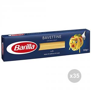 Set 35 BARILLA Semola 11 bavettine gr500 pasta italiana