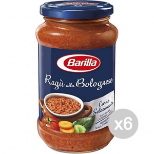 Set 6 BARILLA Sauce Bolognese Sauce For Pasta Sauce Gr 400