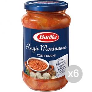 Set 6 BARILLA Salsa Para Pasta Salsa De 400 Gr Montanara