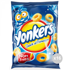 Set 16 SAIWA Yonkers Cheese snacks gr100 126145 salty snack