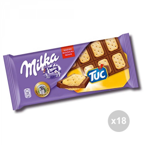 Set 18 MILKA Chocolate tablet tuc gr. 87 4013781 sweet snacks