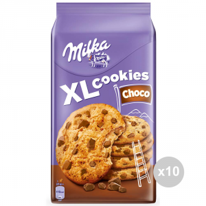 Set 10 MILKA Cookies Cookies choco xl gr. 184 914654 sweet snacks