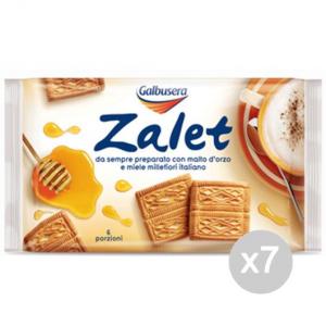Set 7 GALBUSERA Biscotti Zalet Gr.500 Per Colazione E Merenda