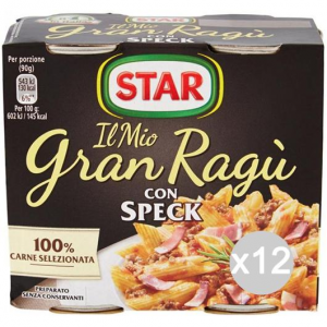 Set 12 STAR Gravy Sauce Gran Speck 180X2 Dressing For Pasta