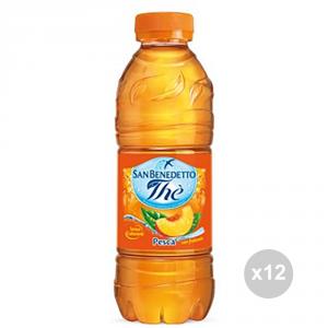 Set 12 SAN BENEDETTO Die Flaschen Pfirsich 500ml alkoholfreies Getränk für Parteien