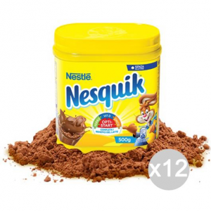Set 12 NESQUIK Jar 500 Gr Pour Le Petit Déjeuner Et Snack