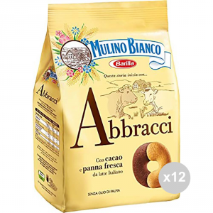 Set 12 MULINO BIANCO Biscuits 350 gr calins collations sucrées