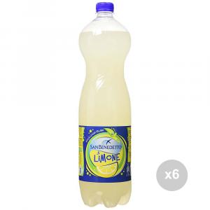 Set 6 SAN BENEDETTO Limonada 1. 5 litros embotellados refresco para fiestas