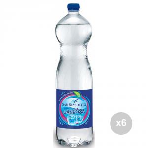 Set 6 SAN BENEDETTO Gaseosos 1. 5 litros embotellados refresco para fiestas