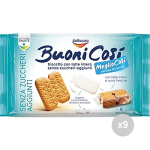 Set 9 GALBUSERA Biscuits so good gr330 classic sweet snack shortbread