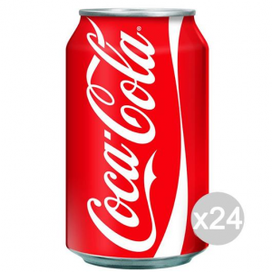 Set 24 COCACOLA Import Lattina Ml.330 Bassa Bevanda Bibita Analcolica