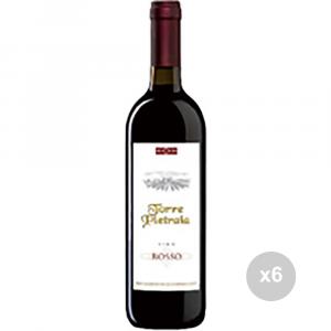 Set 6 VERGA Vino rosso 750 10├© bevanda alcolica da tavola