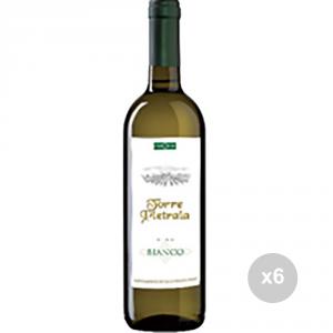 Set 6 VERGA Vin blanc 750 table de boisson alcoolisée 10o