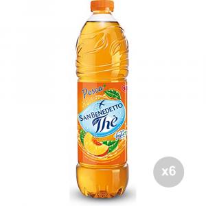 Set 6 SAN BENEDETTO Die Flaschenfischen 1. 5 Liter Erfrischungsgetränk für Parteien